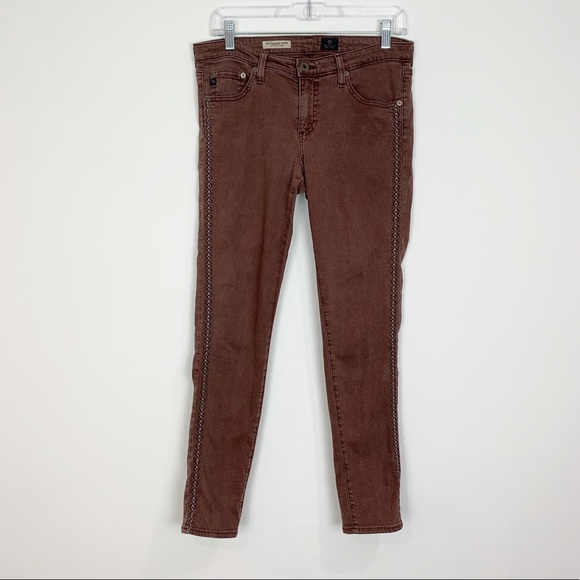 Ag Adriano Goldschmied Denim - AG Jeans The Legging Ankle Skinny Jeans Size 29R